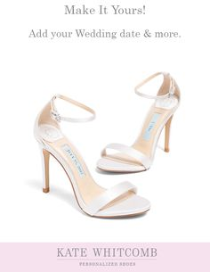 f82233f006 17 Best Kate Whitcomb Shoes images | Bridal sandals, Sandals wedding ...