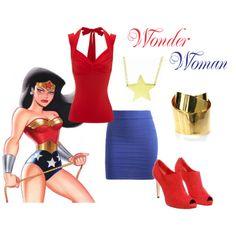 Modern Wonder Woman by wonderland449 on Polyvore featuring Jane Norman, Arden B., Gianvito Rossi, Jennifer Meyer Jewelry, Alexis Bittar and modern
