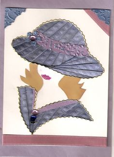Lady in Spring hat. - Scrapbook.com