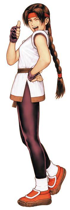 Yuri Sakazaki from King of Fighters 2000