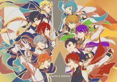 This is war. 3rd Unit CD - Knights x Ryuseitai Put your Faith in Justice.