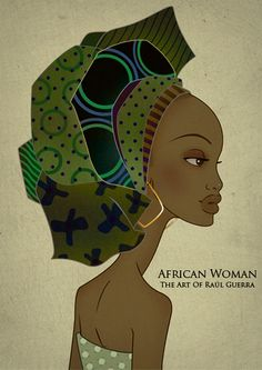 African Woman Vintage Edition  by ~raul-guerra