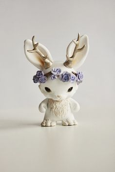 Micro Munny Spring Jackalope from Mijbil Creatures