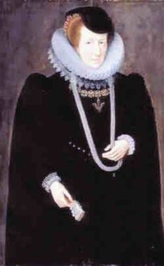 Mary Shelton the daughter of Sir John Shelton and Margaret Parker. She was at court as a chamberer to Elizabeth I from January 1, 1571, but angered the queen when she secretly married Sir James Scudamore of Holme Lacy, Herefordshire a gentleman usher in January 1573/4. Queen Elizabeth is said to have been so angry that she attacked Mary and broke her finger. In spite of this incident, Mary continued as a chamberer and became quite influential at court as well as being a favorite with the…