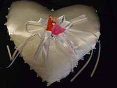 Sleeping Beauty & Prince Phillip Ring Pillow