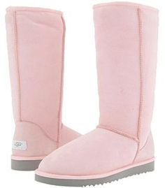 UGG classic tall in light pink