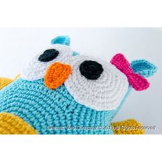 Free Crochet Owl Patterns | Owl Pillow Crochet Pattern