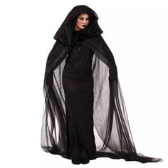 Aliexpress.com : Buy Witch Sorceress Demon Cosplay Costumes Black Mesh Long Maxi Dress and Cloak Gloves Set Halloween Costumes For Women 2016 from Reliable costume bow and arrow suppliers on B&B Factory Clothes