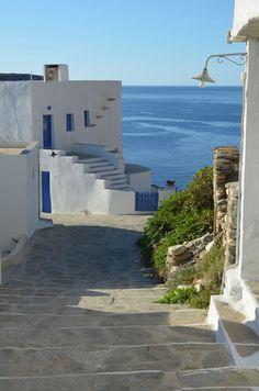 """Kastro, Sifnos Isl, Greece"" #Greece #travel"