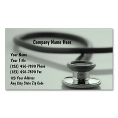Medical Business Cards  Business Cards Template And Business