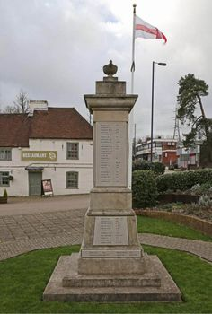 Horndean Village War Memorial - remembering those who gave their lives in the course of duty.