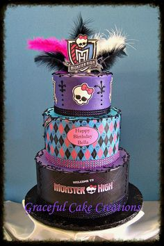 Monster High Birthday Cake | Flickr - Photo Sharing!