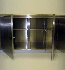 Stainless Steel Enclosures - Ability Fabricators Inc. Bathroom Medicine Cabinet, Stainless Steel, Design, Products, Design Comics, Beauty Products