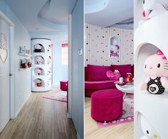 A Hello Kitty Theme Home decoration - smallrooms