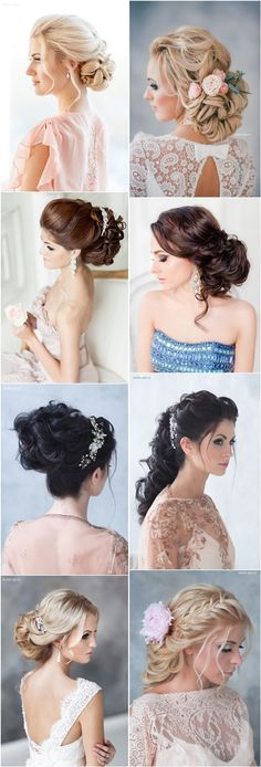 braided wedding bridal hairstyles for long hair / http://www.deerpearlflowers.com/brides-favorite-wedding-hair-styles-for-long-hair/