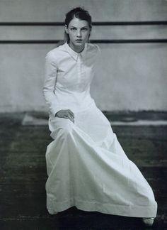 miu miu s/s 1997, angela lindvall photographed by glen luchford