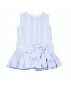 baby blue babydoll Frocks For Girls, Kids Frocks, Little Dresses, Little Girl Dresses, Cute Dresses, Cute Baby Clothes, Doll Clothes, Little Girl Fashion, Kids Fashion