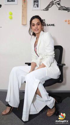 Indian Bollywood Actress, Bollywood Girls, Indian Actresses, Actress Pics, Tamil Actress Photos, Floor Length Anarkali, Taapsee Pannu, Frocks For Girls, Beautiful Asian Girls