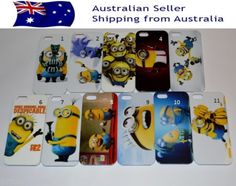 Despicable-Me-Minions-Hard-Case-Cover-iphone-5-Aussie-Seller