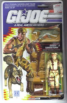 Dusty & Sandstorm (v3) G.I. Joe Action Figure - YoJoe Archive