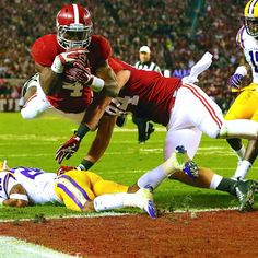 Alabama Gets Convincing Win over LSU