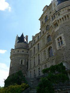 Château de Brissac.Pays-de-la-Loire
