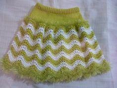 Knit Baby Dress, Knitted Baby Cardigan, Crochet Cardigan Pattern, Crochet Doily Patterns, Knitting Patterns, Knitting For Kids, Crochet For Kids, Baby Knitting, Crochet Baby
