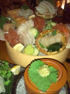 sashimi!!