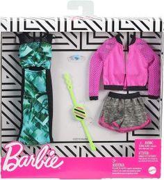 Original Barbie Doll, New Barbie Dolls, Barbie Sets, Doll Clothes Barbie, Mattel Barbie, Barbie Van, Barbie Outfits, Made To Move Barbie, Outfit Sets