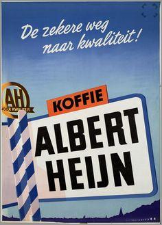 Voor Albert Heijn koffie 1949