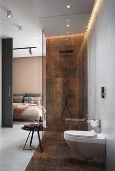 Stone Bathroom, Bathroom Spa, Master Bathroom, Villa Design, House Design, Bathroom Design Luxury, Bedroom Loft, New Home Designs, Bathroom Inspiration
