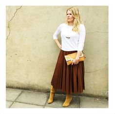 This Mango pleated skirt has been a huge favourite this season, featured on the pages of Look Magazine, Marie Claire UK, Elle UK AND Stylist Magazine... oh and our ecomm director, Amy!