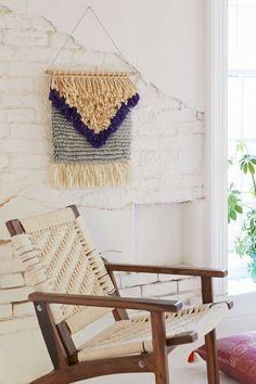 Magical Thinking Yves Woven Wall Hanging - Urban Outfitters
