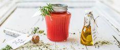 Condiments maison, la Ruche Qui Dit Oui ! Sel fleur de thym, Huile d'olive zeste d'orange et vinaigre de fraise