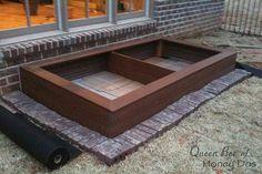 DIY composite raised garden