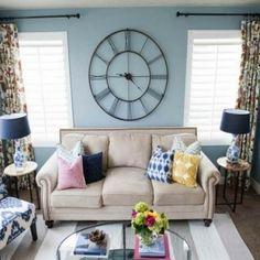 ideen f r wandgestaltung dekorieren sie ihre zimmerw nde mit vintage wanduhren http. Black Bedroom Furniture Sets. Home Design Ideas