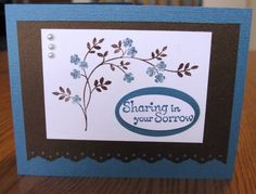 Praying for You Sympathy by Isaiah40:31 - Cards and Paper Crafts at Splitcoaststampers