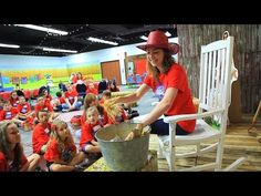 Barnyard Roundup Training | Barn Raising Storytelling | Concordia's 2016 VBS - YouTube