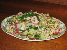 Israeli Couscous and Radish Salad