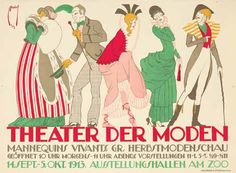Ernst Deutsch (1883-1938) 285. Theater der Moden. 1913.