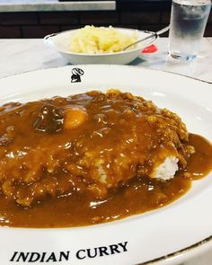 カレーではくくれないカレーでは無い別の食べ物 インデアンカレー #芦屋店 インデアンカレー芦屋店