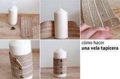 Una simple vela, incluso de las baratas, puede convertirse en un elemento decorativo que aporte distinción a nuestro dormitorio, al salón o a nuestra mesa cuando tenemos invitados de postín a comer. ¿Cómo conseguirlo?