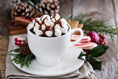 Christmas hot chocolate by farwasser on Creative Market