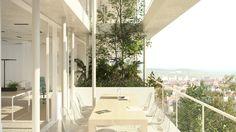 Galeria de NL*A divulga projeto de edifício corporativo ecológico na França - 2