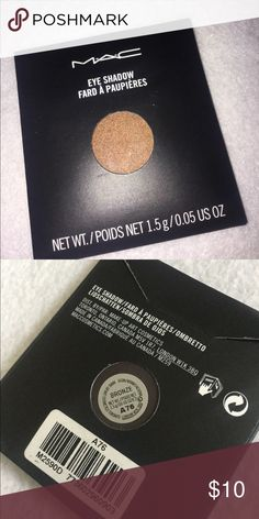 Mac EyeShadow Refill Bronze Brand new!!! 100% authentic eye shadow. I have many different shades available. MAC Cosmetics Makeup Eyeshadow