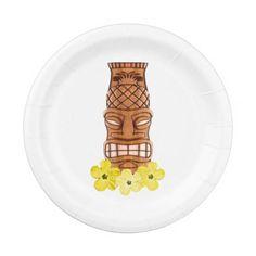 Honu Hawaiian Map Plates Luau Party Ideas Pinterest Maps - Us map paper plates