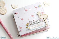 ¡Hola! ¿Qué tal el veranito? Hoy Nuria nos enseña un Mini álbum muy veraniego con la famosa colección Citruss Bliss de Pink Paislee. Nos...