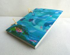 Cuaderno artesano 10x15 cm 4x 6 Papel reciclado por kinmcuadernos, €10.00