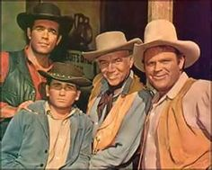 """Bonanza was an NBC western tv series that ran from September 12, 1959-January 16, 1973.  It continues to air in syndication, The show centers around the Cartwright family, who live in the area near Lake Tahoe, Nevada. The show stars Lorne Greene, Pernell Roberts, Dan Blocker, Michael Landon, & David Canary. The show's title """"Bonanza"""" is a term used by miners in regard to a large vein or deposit of ore, & commonly refers to The Comstock Lode.   http://youtu.be/mjdRgBAY278 theme song"""