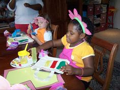 Began hosting a Library Party the year my daughter was learning how to read.  The event involved a package of tips and tools for parents and activities related to becoming a reader